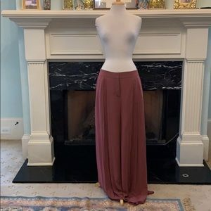 NWT Lauren Conrad rose pallazo pants